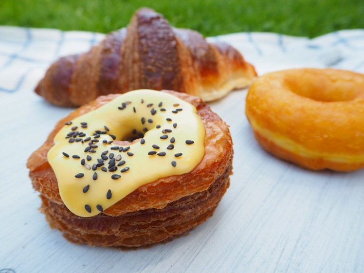 Rustica Cronut with croissant and donut