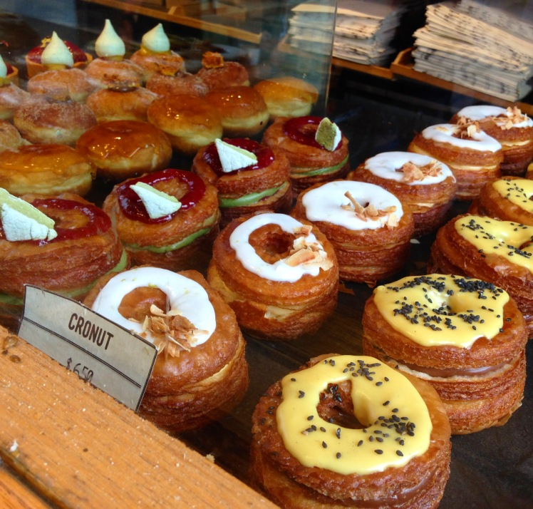 Rustica Cronuts line-up 2