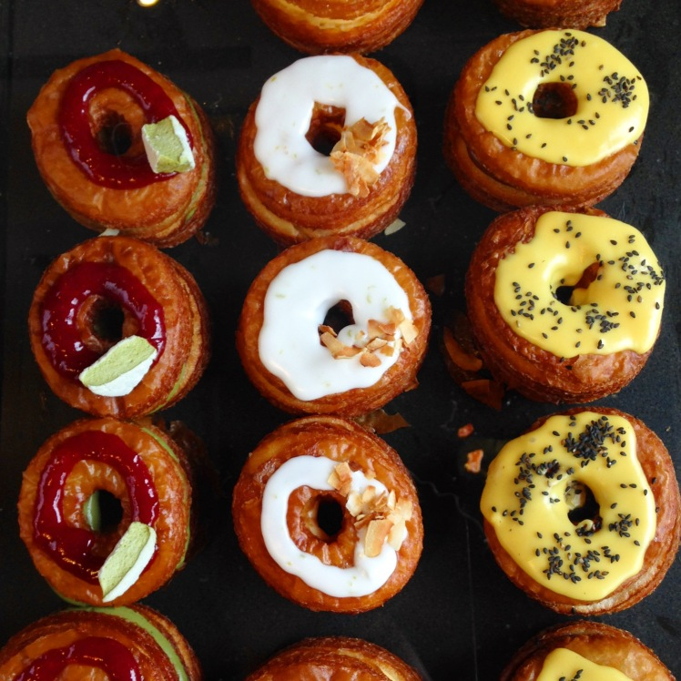 Rustica Cronuts line-up