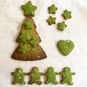 Matcha Shortbread - Arrangements